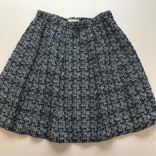 アベニールエトワール(Aveniretoile)のアベニールエトワール フレアスカート ツィードラメ 38 Mサイズ(ミニスカート)
