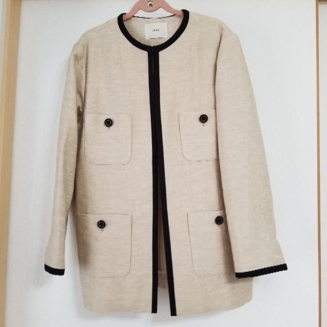 IENA(イエナ)のイエナ MANTECOノーカラージャケット レディースのジャケット/アウター(ノーカラージャケット)の商品写真