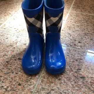 バーバリー(BURBERRY)のバーバリーチルドレン  レインシューズ 15.5センチ(長靴/レインシューズ)