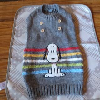 スヌーピー(SNOOPY)のひはうこつすず様ご確認用2点ペットパラダイス★Snoopyニットセーター(犬)