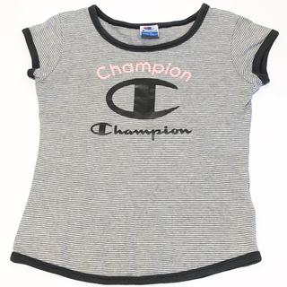 チャンピオン(Champion)の【夏物セール】champion 半袖Tシャツ こども 女の子 スポーティ(Tシャツ/カットソー)