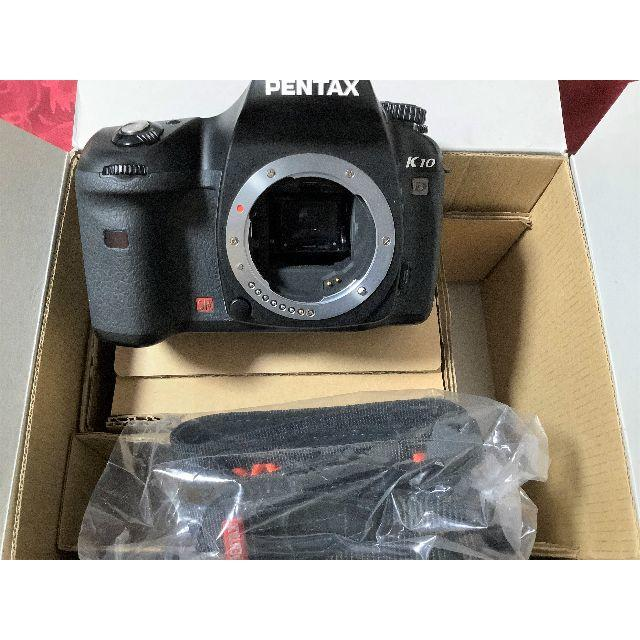 PENTAX(ペンタックス)のPENTAX デジタル一眼レフカメラ K10D ボディ 外箱あり スマホ/家電/カメラのカメラ(デジタル一眼)の商品写真