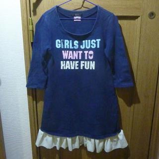 バービー(Barbie)のBarbie バービー ワンピース サイズ130 <c383>(ワンピース)