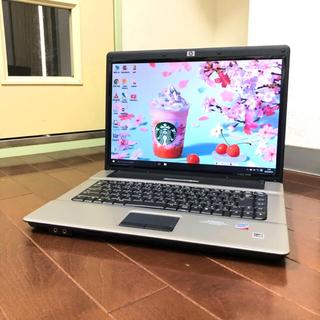 ヒューレットパッカード(HP)の超美品 Windows10 officeあり DVD焼 wi-fiあり コア2(ノートPC)