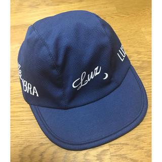 LUZ - ルースイソンブラ ジュニア キャップ 帽子 サッカー ネイビー