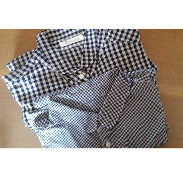 Solberry(ソルベリー)のsoulberry so ソウルベリー エスオー ギンガムチェックシャツ セット レディースのトップス(シャツ/ブラウス(長袖/七分))の商品写真