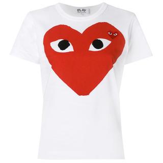 コムデギャルソン(COMME des GARCONS)のplay COMME des GARÇONS レディースTシャツ(Tシャツ(半袖/袖なし))