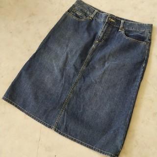サマンサモスモス(SM2)のSM2 デニムスカート L(ひざ丈スカート)