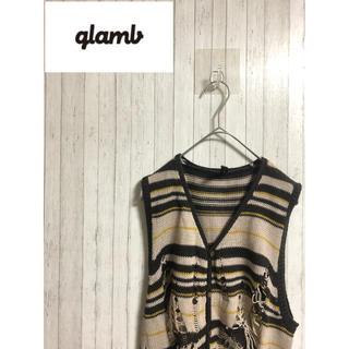 グラム(glamb)のglamb GB08SM / KNT01 : Oskar knit vest(ニット/セーター)