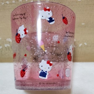 サンリオ(サンリオ)の☆最終在庫処分セール中❗サンリオ・クリアタンブラー・ハローキティ☆(グラス/カップ)
