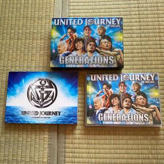 ジェネレーションズ(GENERATIONS)のUNITED JOURNEY 2018 初回生産限定盤 Blu-ray(ミュージック)