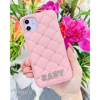レディー(Rady)のRady iPhone11/XRケース ピンク(iPhoneケース)