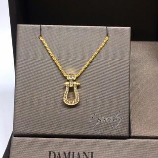 ダミアーニ(Damiani)の最高級 CZダイヤモンド ゴールド ネックレス メンズ レディース ストリート(ネックレス)