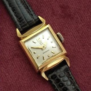 オメガ(OMEGA)の18金 無垢 OMEGA オメガ 手巻き 時計18k 0.750 刻印(腕時計)