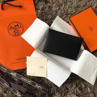 エルメス(Hermes)の直営店購入エルメス新品未使用HERMESカードケース名刺入れ(名刺入れ/定期入れ)