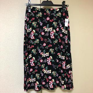 ギャップ(GAP)のGAP 花柄 スカート(ひざ丈スカート)