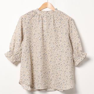 サマンサモスモス(SM2)の花柄ブラウス(シャツ/ブラウス(半袖/袖なし))