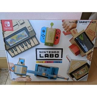 ニンテンドウ(任天堂)の新品未使 Nintendo Labo (ニンテンドーラボ) Toy-Con 01(家庭用ゲームソフト)