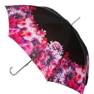 レディー(Rady)のリゾートフラワーブラック 傘(傘)