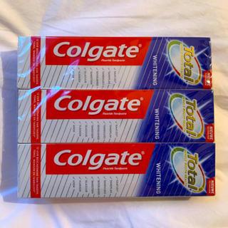 クレスト(Crest)のコルゲート Colgate トータルSF ホールマウスヘルス ホワイトニング(歯磨き粉)