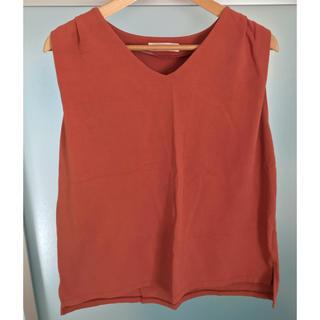 ビームス(BEAMS)のBEAMS ノースリーブ シャツ(Tシャツ(半袖/袖なし))