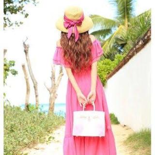 エミリアウィズ(EmiriaWiz)のEmiriaWiz♡リボンリゾートハット(麦わら帽子/ストローハット)