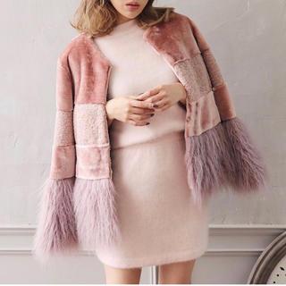 darich random fur eco coat(毛皮/ファーコート)