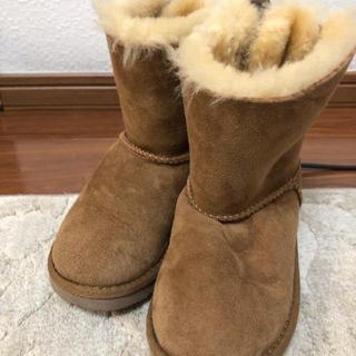 アグ(UGG)の子供靴 UGG ムートンブーツ 18.5センチ(ブーツ)
