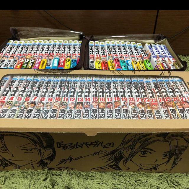 秋田書店(アキタショテン)の弱虫ペダル1~55、27.5、スペアバイク1~4〇おまけつき〇 エンタメ/ホビーの漫画(少年漫画)の商品写真