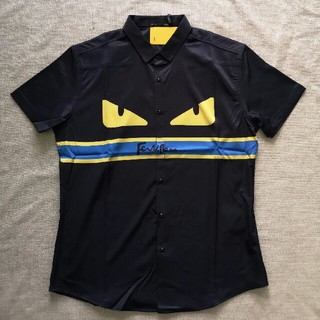 フェンディ(FENDI)の❀未使用❀フェンディ シャツ ブラック(シャツ)