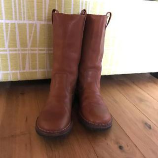 ボンポワン(Bonpoint)のpepe ペペ 本革ブーツ 18cm (ブーツ)