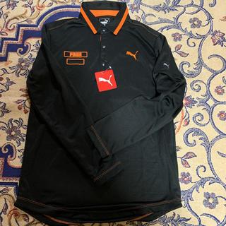 PUMA - PUMAポロシャツ長袖薄手新品