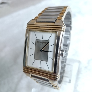 サンローラン(Saint Laurent)のイヴサンローラン腕時計 メンズクォーツ(腕時計(アナログ))