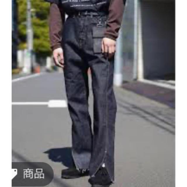 SUNSEA(サンシー)のKAIKO スリットデニム 早いもの勝ち! メンズのパンツ(デニム/ジーンズ)の商品写真