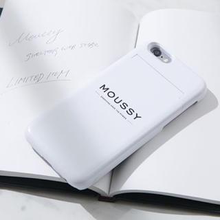 マウジー(moussy)のマウジー オーダーiPhoneケース(iPhoneケース)