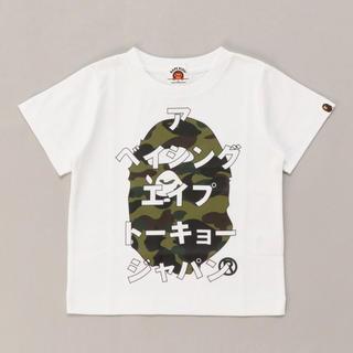A BATHING APE - 【新品】APE kids Tシャツ 110cm