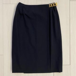 セリーヌ(celine)の美品 CELINE セリーヌ 巻きスカート ラップスカート(ひざ丈スカート)