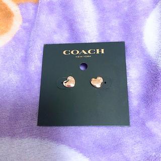 コーチ(COACH)の新品COACH ハートピアス(ピアス)