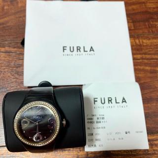 フルラ(Furla)のFURLA フルラ 黒時計(アナログ)(腕時計)