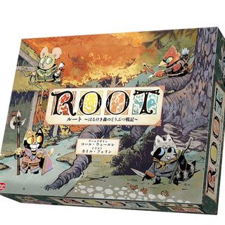 新品未開封 root ルート はるけき森のどうぶつ戦記 日本語版 ボードゲーム (その他)