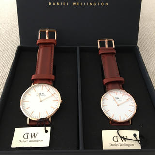 Daniel Wellington - ダニエルウェリントン 腕時計 CLASSIC 男女ペアセット