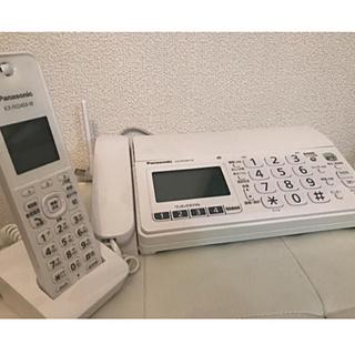 Panasonic - Panasonic 電話機 子機FAX付き