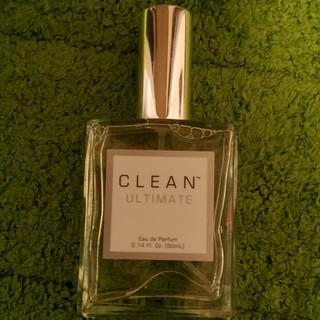 クリーン(CLEAN)のクリーンアルティメイト 60ml  香水 石鹸の香り【ほぼ未使用】(ユニセックス)
