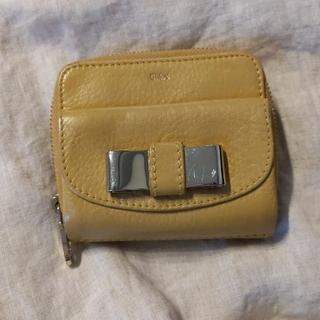 クロエ(Chloe)のyuko様専用★Chloe イエロー からし色 折りたたみ財布(折り財布)