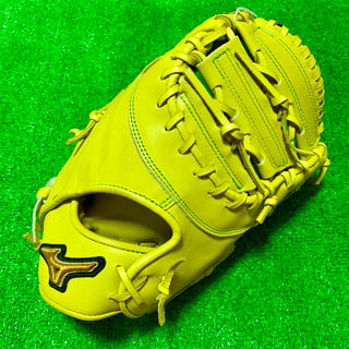 MIZUNO - 新品 高校野球対応 ミズノプロ 硬式用 ファーストミット CB型 グローブ 限定