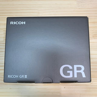 リコー(RICOH)の新品未使用品 RICOH GR3(コンパクトデジタルカメラ)