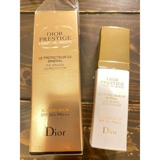 ディオール(Dior)のDior プレステージ ホワイト ルプロテクターUV ミネラル(化粧下地)