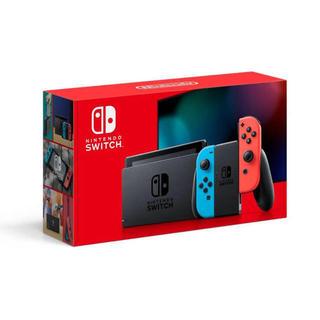 ニンテンドースイッチ(Nintendo Switch)の送料込み 新品未使用 Nintendo Switch ネオン 本体(家庭用ゲーム機本体)
