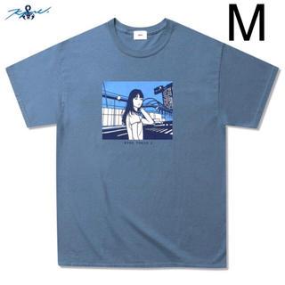 ソフ(SOPH)のMサイズ SOPHNET. KYNE TOKYO 2 TEE BLUE(Tシャツ/カットソー(半袖/袖なし))
