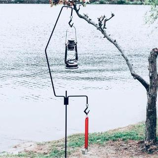ペトロマックス(Petromax)の【2段フック高さ175cm】 ランタンハンガー(ライト/ランタン)